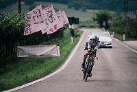 Salvatore Puccio (ITA/SKY)<br /> <br /> stage 16: Trento &ndash; Rovereto iTT (34.2 km)<br /> 101th Giro d'Italia 2018