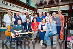 Killarney musicians who will be bucking for charity in Markets Cross on Bank Holiday Monday front row l-r: Rory Sugrue, Joey Quinilan, Eileen Doody, Mary Geaney O'Connor Kate Fleming. Back row: Mick Kavanagh, Jimmy Flynn, Paddy O'Shea, Sean Brosnan, Donal Shine, teddy Sugrue Joe Brosnan, Mary O'Connor, Palmela Walsh, Pauline Lyne, Phil Brosnan