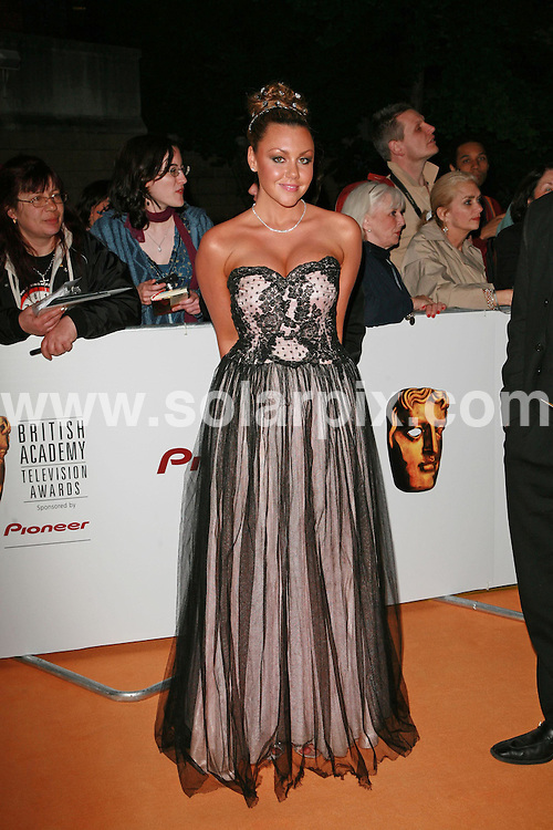 **ALL ROUND PICTURES FROM SOLARPIX.COM**.The 2007 TV Baftas after party at the Natural History Museum in south west London on 20.05.07.  This pic: Michelle Heaton..JOB REF:  3968  GMT   DATE: 20.05.07.**MUST CREDIT SOLARPIX.COM OR DOUBLE FEE WILL BE CHARGED* *UNDER NO CIRCUMSTANCES IS THIS IMAGE TO BE REPRODUCED FOR ANY ONLINE EDITION WITHOUT PRIOR PERMISSION*