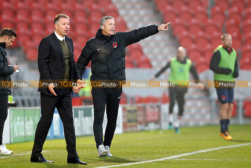 O's new manager Andy Edwards during Doncaster Rovers vs Leyton Orient, Sky Bet EFL League 2 Football at the Keepmoat Stadium on 26th November 2016