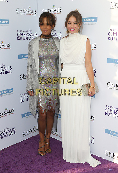 BRENTWOOD, CA June 03- Halle Berry, Rebecca Gayheart-Dane, at 16th Annual Chrysalis Butterfly Ball at Private Residence, California on June 03, 2017. Credit: Faye Sadou/MediaPunch<br /> CAP/MPI/FS<br /> &copy;FS/MPI/Capital Pictures