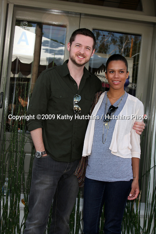 Damien Fahey and Grasie Mercedes   arriving at the 7th Annual John Varvatos Stuart House Benefit at the John Varvatos Store in West Hollywood, CA  on.March 8, 2009.©2009 Kathy Hutchins / Hutchins Photo...                .