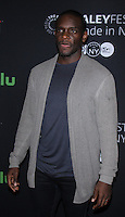 NEW YORK, NY-October 19:Chris Chalk at PaleyFest New York presents Gotham at the Paley Center for Media in New York.October 19, 2016. Credit:RW/MediaPunch
