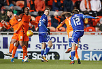 20.3.2018: Dundee Utd v Queen of the South<br /> Joe Thomson lashes in the winning goal for QoS