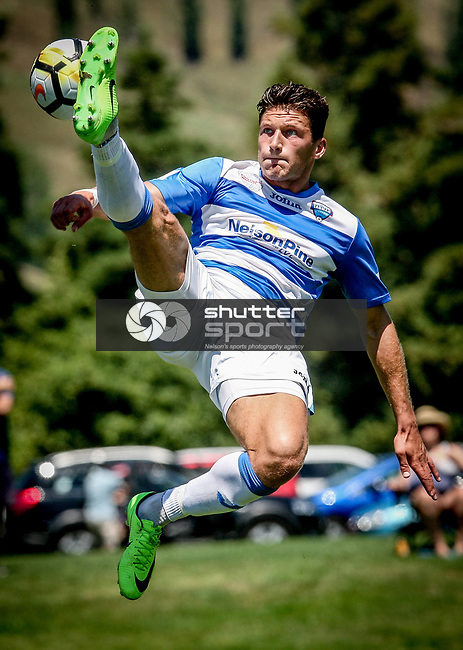 Tasman United v Hamilton Wanderers, Handa Premiership football, Saxton Field, Nelson, Sunday 14 January 2018. Copyright Image: Evan Barnes/ www.photosport.nz