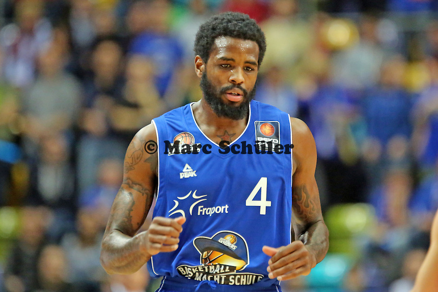 Neuzugang Ramon Galloway (Skyliners)- Fraport Skyliners vs. Telekom Baskets Bonn, Fraport Arena Frankfurt