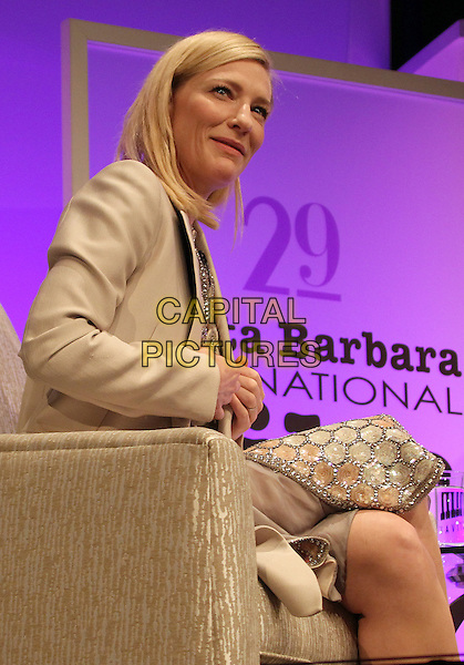 1 February 2014 - Santa Barbara, California - Cate Blanchett.  Cate Blanchett honoured with Outstanding performer of the year award, 29th Santa Barbara International Film Festval Held At The Arlington Theatre, Santa Barbara, California, USA. <br /> CAP/ADM/FS<br /> &copy;Faye Sadou/AdMedia/Capital Pictures