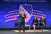 Las Vegas, NV - FEBRUARY 13: Pete Buttigieg Speaking at LULAC Presidential Town Hall at CSN College Of Southern Nevada in Las Vegas, Nevada on February 13, 2020. Credit: Damairs Carter/MediaPunch