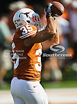 Texas Longhorns linebacker Kendall Thompson (35) in action during the game between the Brigham Young Cougars and the Texas Longhorns at the Darrell K Royal - Texas Memorial Stadium in Austin, Texas. Texas defeats Brigham Young 17 to 16...