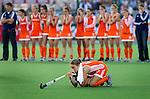 - Spanning bij Maartje Paumen en Oranje bij het nemen van de strafballen , donderdag tijdens de halve finale  bij de World Cup 2010 vrouwen hockey tussen Nederland en Engeland in het Argentijnse Rosario. Oranje wint na strafballen en plaatst zich voor de finale.