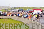 READY, SET GO: The start of the Kerry Head Half Marathon in Ballyheigue on Sunday.