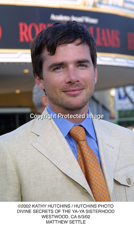 ©2002 KATHY HUTCHINS / HUTCHINS PHOTO.DIVINE SECRETS OF THE YA-YA SISTERHOOD.WESTWOOD, CA 6/3/02.MATTHEW SETTLE