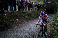 Tom Meeusen (BEL/Beobank-Corendon) up the Koppenberg<br /> <br /> Elite Men's race<br /> Koppenbergcross / Belgium 2017