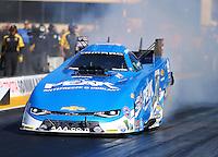Jul 29, 2016; Sonoma, CA, USA; NHRA funny car driver John Force during qualifying for the Sonoma Nationals at Sonoma Raceway. Mandatory Credit: Mark J. Rebilas-USA TODAY Sports