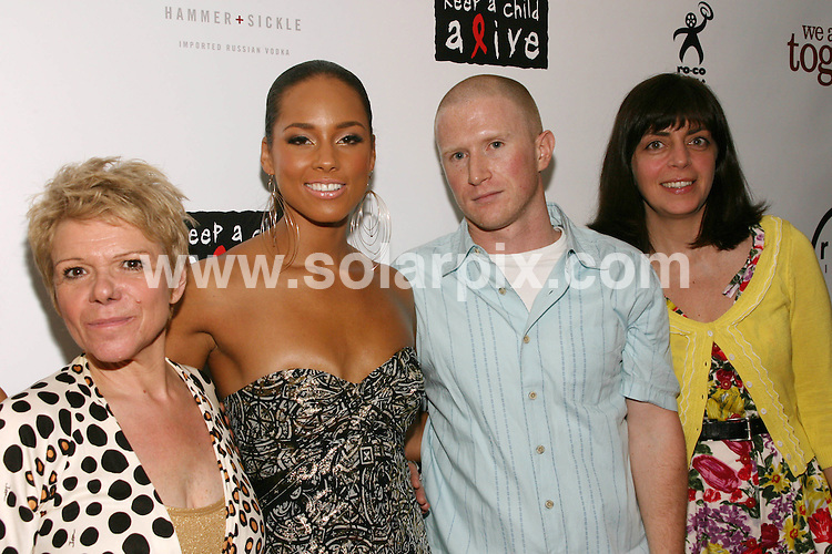 **ALL ROUND PICTURES FROM SOLARPIX.COM**.**SYNDICATION RIGHTS FOR UK, SPAIN, PORTUGAL, AUSTRALIA, S.AFRICA & DUBAI (U.A.E) ONLY**.The R and B singer Alicia Keys attends the We Are Together Premiere at the Directors Guild of America in New York in the  USA.  .This pic:Leigh Blake, Alicia Keys, Paul Taylor and Nancy Abraham.JOB REF:6629-PHZ/Sylvain Gaboury  DATE: 12_06-08.**MUST CREDIT SOLARPIX.COM OR DOUBLE FEE WILL BE CHARGED* *UNDER NO CIRCUMSTANCES IS THIS IMAGE TO BE REPRODUCED FOR ANY ONLINE EDITION WITHOUT PRIOR PERMISSION*