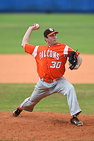 Bowling Green Falcons Trevor Farrell (30) during a game against the Illinois State Redbirds on March 11, 2015 at Chain of Lakes Stadium in Winter Haven, Florida.  Illinois State defeated Bowling Green 8-7.  (Mike Janes/Four Seam Images)