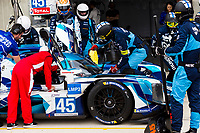 10th January 2020; The Bend Motosport Park, Tailem Bend, South Australia, Australia; Asian Le Mans, 4 Hours of the Bend, Practice Day; The number 45 Thunderhead Carlin Racing LMP2 driven by Jack Manchester, Harry Tincknell, Ben Barnicoat during the team test - Editorial Use