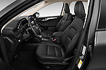 Front seat view of a 2020 Ford Escape SEL 5 Door SUV front seat car photos