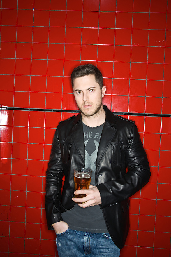 Harry Morton photographed at The Viper Room, West Hollywood, California for Draft Magazine