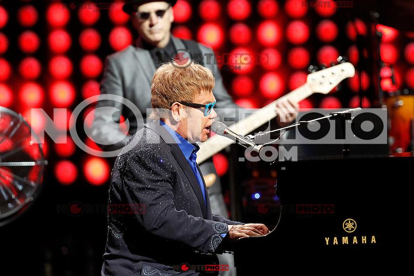 Elton John in concert.July 20, 2015. (/NortePhoto.com/ALTERPHOTOS/Acero)