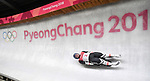 Wolfgang Kindl (AUT). Mens luge. Pyeongchang2018 winter Olympics. Alpensia sliding centre. Alpensia. Gangneung. Republic of Korea. 11/02/2018. ~ MANDATORY CREDIT Garry Bowden/SIPPA - NO UNAUTHORISED USE - +44 7837 394578