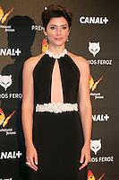 Barbara Lennie attends the Feroz Cinema Awards 2015 at Las Ventas, Madrid,  Spain. January 25, 2015.(ALTERPHOTOS/)Carlos Dafonte) /NortePhoto<br /> <br /> nortePhoto.com