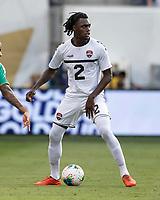 KANSAS CITY, KS - JUNE 26: Leland Archer #2 during a game between Guyana and Trinidad