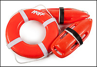 BNPS.co.uk (01202 558833)<br /> Pic: Juliens/BNPS<br /> <br /> ***Please use full byline***<br /> <br /> David Hasselhoff Ring Bouy and Rescue Can from Baywatch.<br /> <br /> The futuristic talking sportscar driven by TV legend David Hasselhoff in cult show Knight Rider is among a &pound;100,000 archive of the star's possessions up for sale.<br /> <br /> Hasselhoff has also put his iconic red lifeguard jacket from hit programme Baywatch on the market alongside a bizarre, oversized statue of himself.<br /> <br /> The actor, known as The Hoff, shot to fame in 1982 in Knight Rider as crime fighter Michael Knight.<br /> <br /> Knight's partner was an artificially intelligent supercar called Knight Industries Two Thousand - or KITT for short.