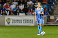 Chicago, IL - Saturday Sept. 24, 2016: Julie Johnston during a regular season National Women's Soccer League (NWSL) match between the Chicago Red Stars and the Washington Spirit at Toyota Park.