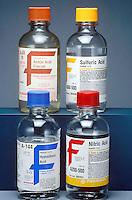 MAIN ACIDS IN BOTTLES<br />
