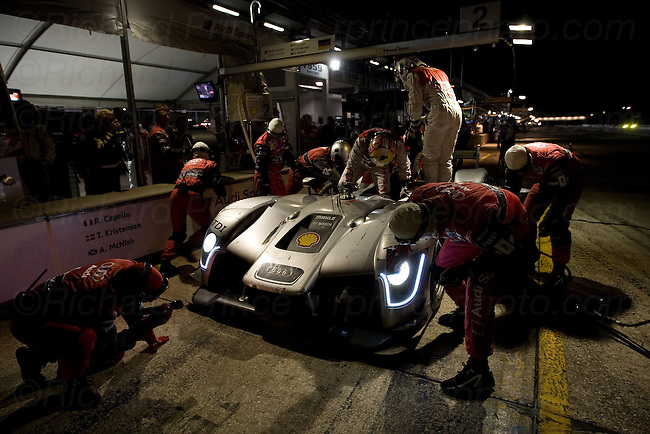 Racing cars from Acura, Alfa Romeo, Audi, Aston Martin, Bentley, BMW, Cadillac, Chevrolet Corvette, Camaro, Dodge Viper, Ford, Honda, Jaguar, Lexus, Maserati, Mazda, Mustang, Peugeot, Pontiac, Porsche, Saleen, from ALMS, Grand-Am, IRL, CART, Formula One, NASCAR and other motorsports events at Le Mans, Sebring, Daytona, Lime Rock, Mid-Ohio, Road America, Road Atlanta, Laguna Seca, Watkins Glen, Indy, Bonneville, and other race tracks