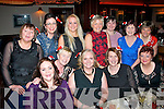 Staff from Kerry General hospital ICU (Intensive Care unit) dined in the Grand hotel, Tralee last Friday night for their annual Christmas bash (seated) l-r: Catriona Hartnett, Helen Conway, Brid Diggins, Eileen Flahive and Joan Dowling. Back l-r: Kathy Healy, Mairead Carney, Fiona Colgan, Siobhan O Nuallain, Bernie Lynch, Helen O'Leary and Margaret Griffin.