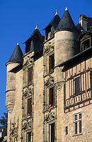 Europe/France/Limousin/19/Corrèze/Vallée de Corrèze/Tulle: Maison Deloyac - Architecture de style renaissance