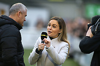 BBC Sport interview Oldham Athletic Manager, Frankie Bunn ahead of kick-off during Maidstone United vs Oldham Athletic, Emirates FA Cup Football at the Gallagher Stadium on 1st December 2018