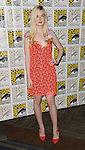 Elle fanning at the Boxtrolls Panel at Comic-Con 2014  held at The Hilton Bayfront Hotel in San Diego, Ca. July 26, 2014.