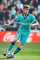 25th January 2020; Mestalla, Valencia, Spain; La Liga Football,Valencia versus Barcelona; Sergi Roberto of FCB brings the ball forward