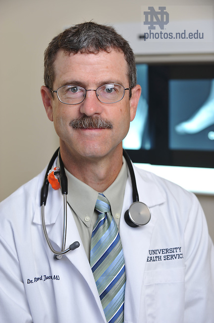 Dr. Rich Jacobs of University Health Services and Sports Medicine