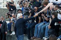 """SAN SEBASTIAN-DONASTIA, ESPANHA, 21 SETEMBRO 2012 - FESTIVAL DE CINEMA DE SAN SEBASTIAN DONOSTIA - O ator Richard Gere durante dilvugacao do filme """"The Holes"""" durante o Festival de Cinema de San Sebastian Donostia na Espanha , nesta sexta-feira, 21. (FOTO: ALFAQUI / BRAZIL PHOTO PRESS)"""