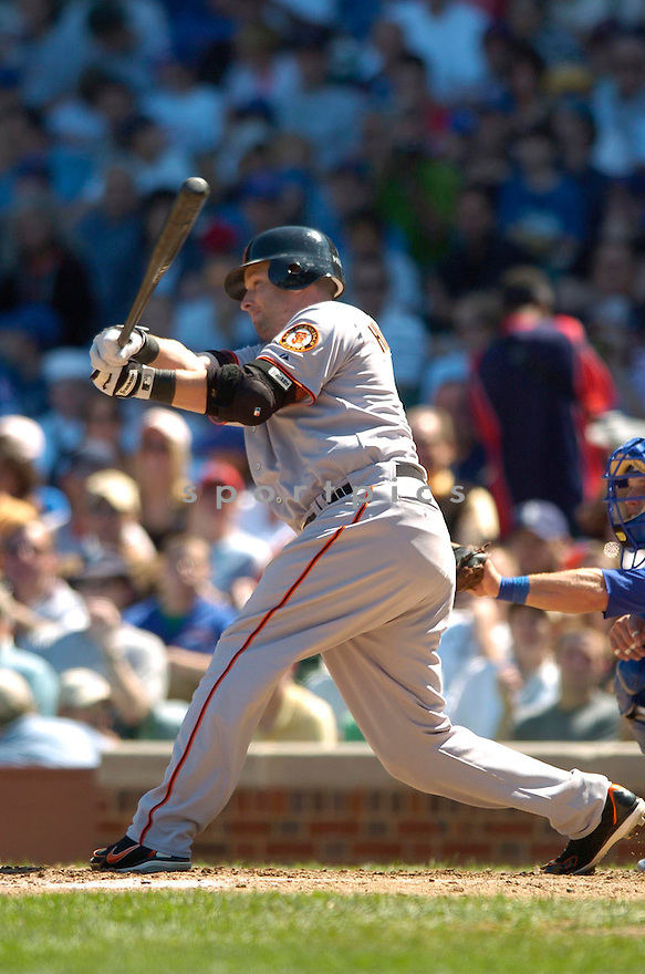 SHEA HILLENBRAND, of the San Francisco Giants, in action against the Chicago Cubs on September 2, 2006 in Chicago, IL...Giants win 4-2..David Durochik / SportPics