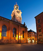 Church of St. Nicholas - Storkyrkan - Stockholm Cathedral, Gamla Stan - old town, Stockholm, Sweden