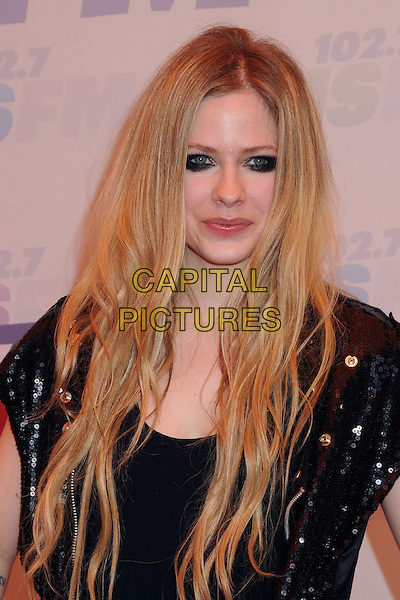 Avril Lavigne.at KIIS FM's Wango Tango 2013 held at The Home Depot Center, Carson, California, USA, 11th May 2013..arrivals portrait headshot eyeliner black makeup .CAP/ADM/BP.©Byron Purvis/AdMedia/Capital Pictures
