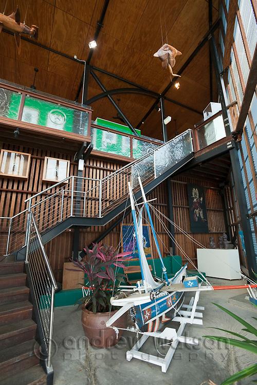 Interior of the Gab Titui Cultural Centre.  Thursday Island, Torres Strait Islands, Queensland, Australia