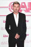 LONDON, UK. November 24, 2016: Gavin Rossdale at the 2016 ITV Gala at the London Palladium Theatre, London.<br /> Picture: Steve Vas/Featureflash/SilverHub 0208 004 5359/ 07711 972644 Editors@silverhubmedia.com