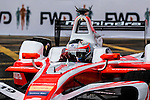 Felix Rosenqvist of Mahindra Racing team during the first race of the FIA Formula E Championship 2016-17 season HKT Hong Kong ePrix at the Central Harbourfront Circuit on 9 October 2016, in Hong Kong, China. Photo by Victor Fraile / Power Sport Images
