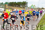 The athletes take off at the Puck Warriors Duathlon in Killorglin on Saturday