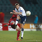 Darren Fletcher shoots
