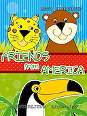 Alfredo, CUTE ANIMALS, paintings+++++,BRTOXX01515CP,#ac# illustrations, pinturas ,everyday