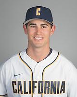 BERKELEY, CA - October 14, 2016: Jack Cosca Cal Baseball Portraits