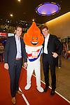 Nederland, Amsterdam, 4 juli 2012.Seizoen 2012/2013.NOC NSF het Olympic en Paralympic Team Netherlands.Bas van de Goor en Peter Blangé