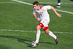 Wisconsin Badgers midfielder/forward Nick Janus (13) handles the ball during an NCAA soccer game against the Michigan Wolverines at the McClimon Memorial Track/Soccer Complex in Madison, Wisconsin on October 10, 2010. Michigan beat Wisconsin 3-2. (Photo by David Stluka)